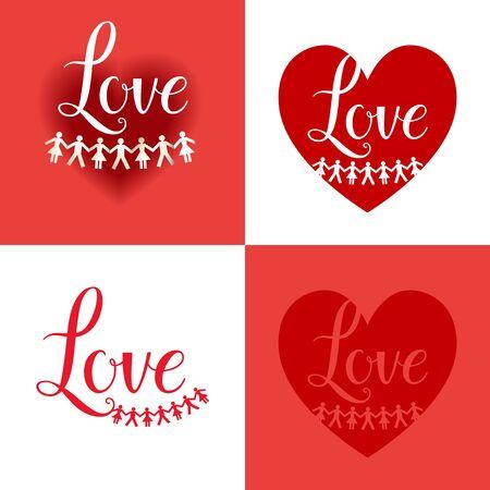 forme: Vacances carte d'amour