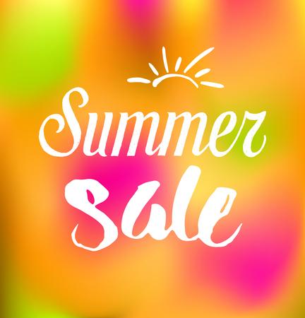 stars: summer sale background