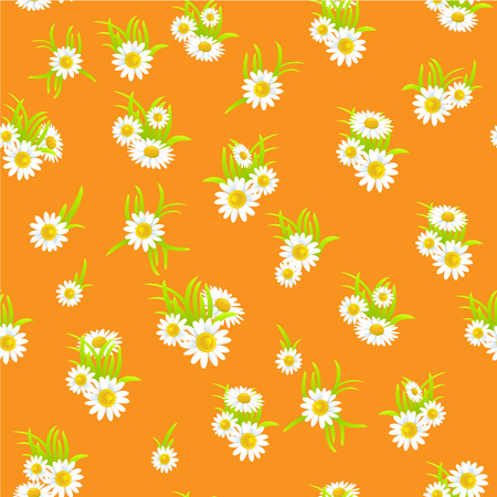 happy holidays: Floral seamless pattern