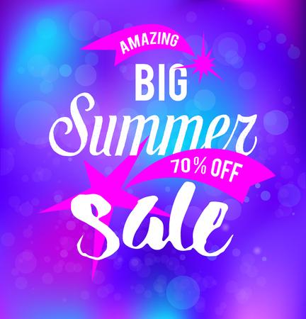 stars: big sale background