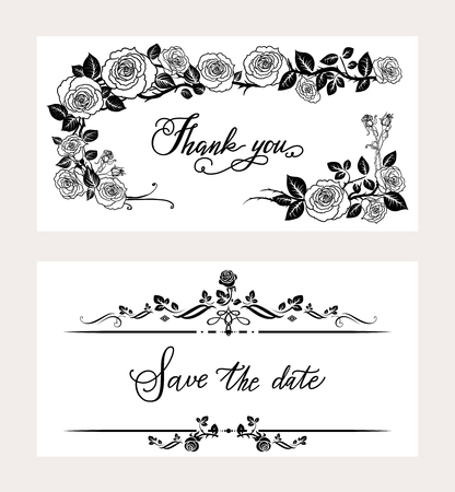 template: Holiday invitation card