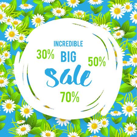 Floral summer sale