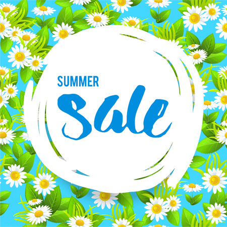 Floral big summer sale