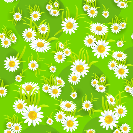 happy: Floral pattern seamless Illustration