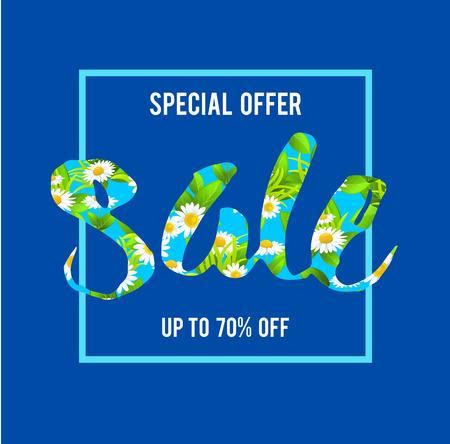 special offer sale lettering