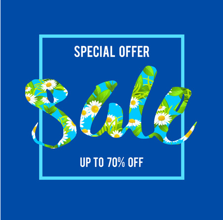 special offer sale lettering