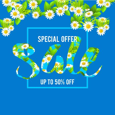 Special offer lettering