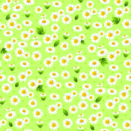 greeting season: Floral seamless pattern