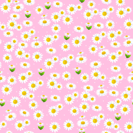 repetition: Floral seamless pattern. Summer or spring template for design banner, ticket, leaflet, card, poster and so on.