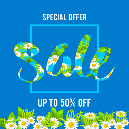 green environment: Floral big sale