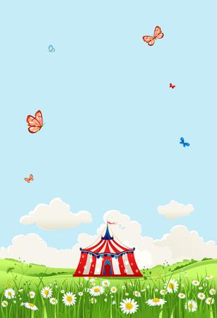 banner summer circus