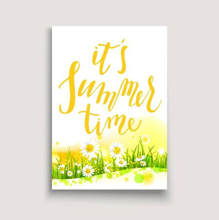 magazine design: Floral card template card