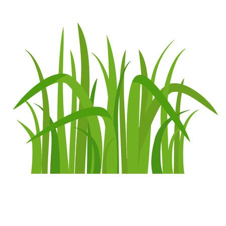 Icon green grass illustration.