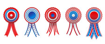 honor: Holiday badge set