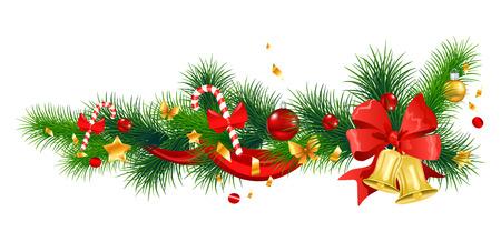 Winter Frohe Weihnachten Dekoration. Standard-Bild - 85239482