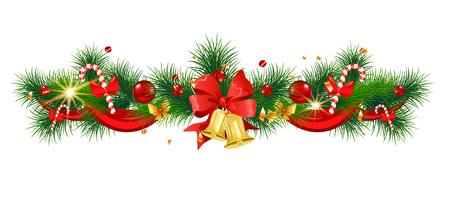 Winter holiday Christmas decoration