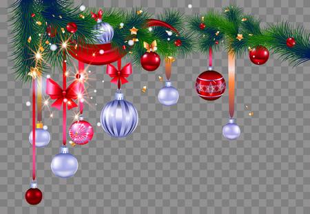 Christmas holiday decoration Illustration