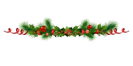 cadre de noël festif