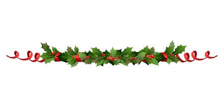 Christmas holiday line  イラスト・ベクター素材