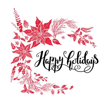 Happy holiday design