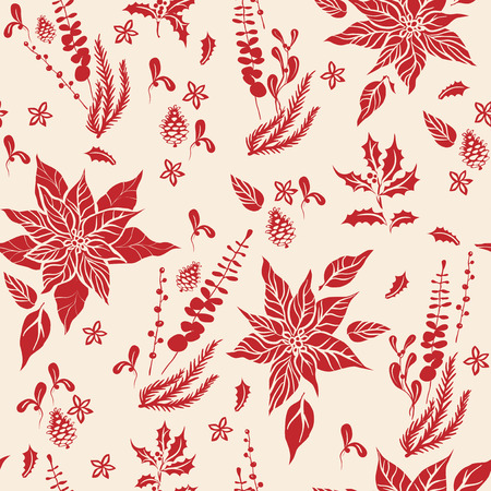 Floral holiday pattern-03