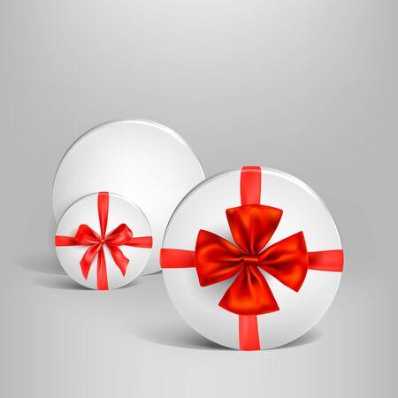 Holiday white box set