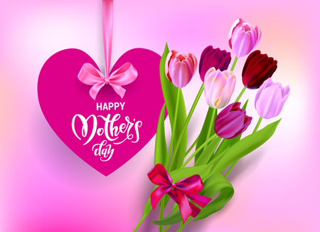 Holiday Mothers day and heart