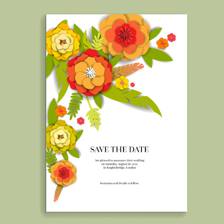 Floral holiday decor Illustration