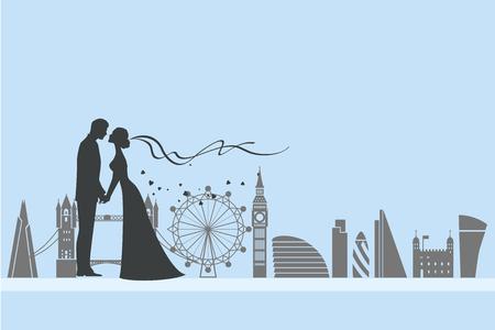 London wedding and love