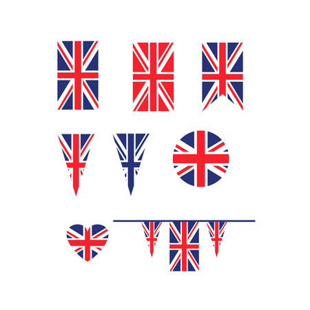 UK Union Jack flag 版權商用圖片 - 101685060