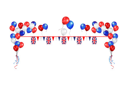 United Kingdomholiday symbols Illustration