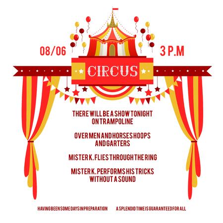 Circus Show Invitation