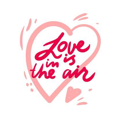Love lettering design for decor