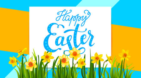 Holiday Easter spring background