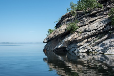 pictured: Grand Portal Point morning at Lake Superior Pictured Rocks National Lakeshore