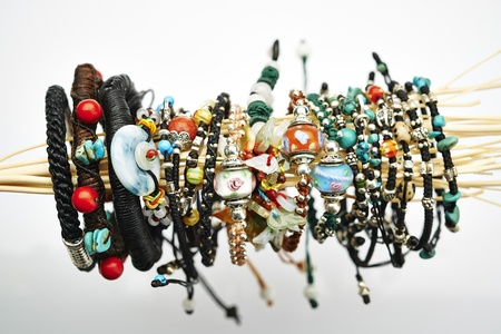 string together: Jewelry Stock Photo