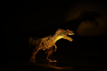 wrathful: dinosaur Stock Photo