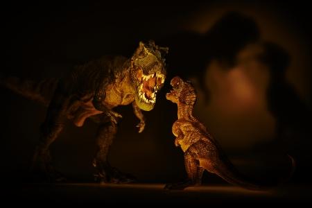 untrue: dinosaur Stock Photo