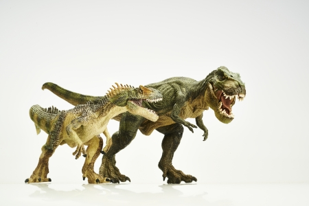 spuria: dinosauro Archivio Fotografico