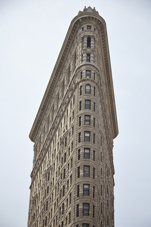 The Flat Iron Building in New York City - USA Editorial