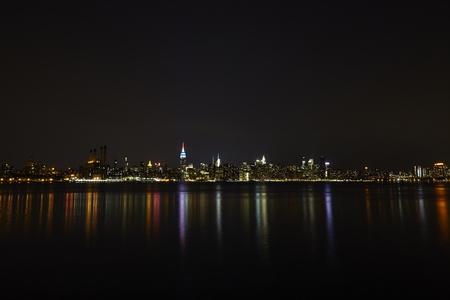 newyork: Lower Manhattan At Night, New York City - USA