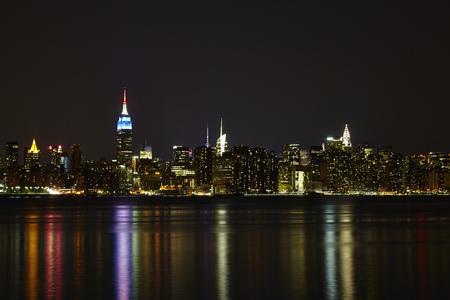 lower manhattan: Lower Manhattan At Night, New York City - USA