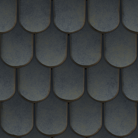 reiteration: Abstract roof pattern. Render 3D Photo.