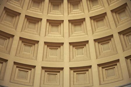 thomas: Closeup wall Thomas Jefferson Memorial, Washington DC, USA Stock Photo