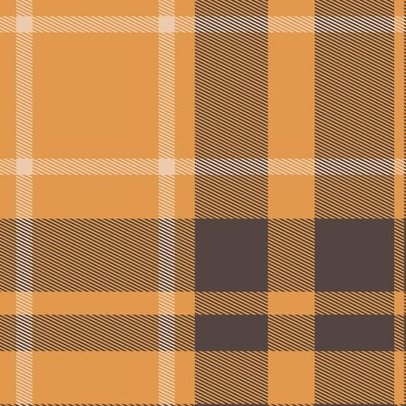 checkered tablecloth: Checkered tablecloth. Seamless plaid fabric pattern background Stock Photo