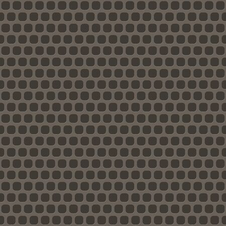 elongated: Silver metal background with elongated grill slots