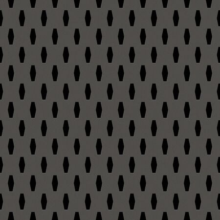 slots: Silver metal background with elongated grill slots