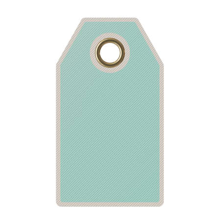 label tag: Tag (label) Isolated on white background