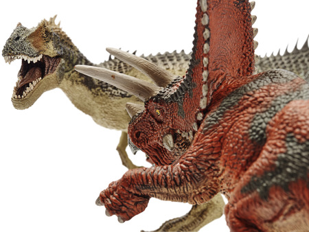 rim: shooting dinosaur on white background