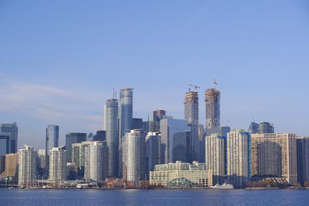 The beautiful Toronto Islands. The islands are a popular recreational destination. Toronto, Ontario, Canada